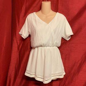 H&M White Romper Size 2 (USA)
